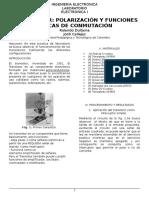 Funciones Basicas Del Transistor