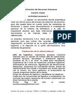 Administración de Recursos Humanos Act 2