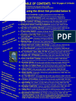 ONE PAGE with SCRIBD LINKS for buying the 24 books by RTGreene