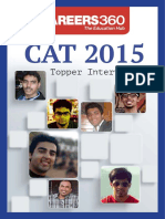 CAT 2015 Topper Interview