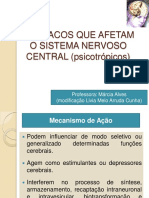 Fármacos Que Atuam No Sistema Nervoso Central