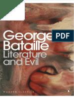 Georges Bataille, Alastair Hamilton-Literature and Evil