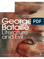 Georges Bataille, Alastair Hamilton-Literature and Evil