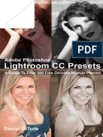 Adobe Photoshop Lightroom CC Presets - Daniel DiTuro
