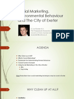 social marketing environmental behaviour and the city