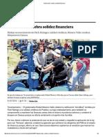 01-07-2016 El Universal - Gobernador Celebra Solidez Financiera