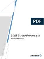 10 SLM Build Processor v2.0 User Manual German