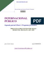 Derecho Internacional Público - Segundo Parcial