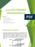 Analisis Pseudo Tridimensional