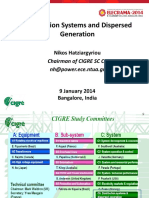 CIGRE Distribution Systems and Dispersed Generation