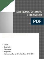 Rahitismul vitamino-D rezistent