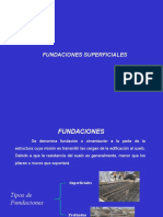 Fundaciones superficiales