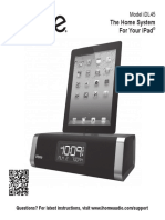 IHome Model IDL45 Manual