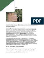 Área Protegida de guatemala