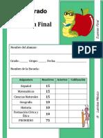 5to Grado - Examen Final