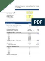 105 18 Subscription Revenue Model Excel