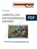 Encuadernación Japonesa. Scrapbook.