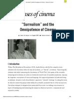 """Surrealism"" and the OmnipotenceofCinema • Senses of Cinema"