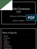 English Grammar 101