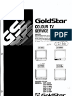 Color TV service manual
