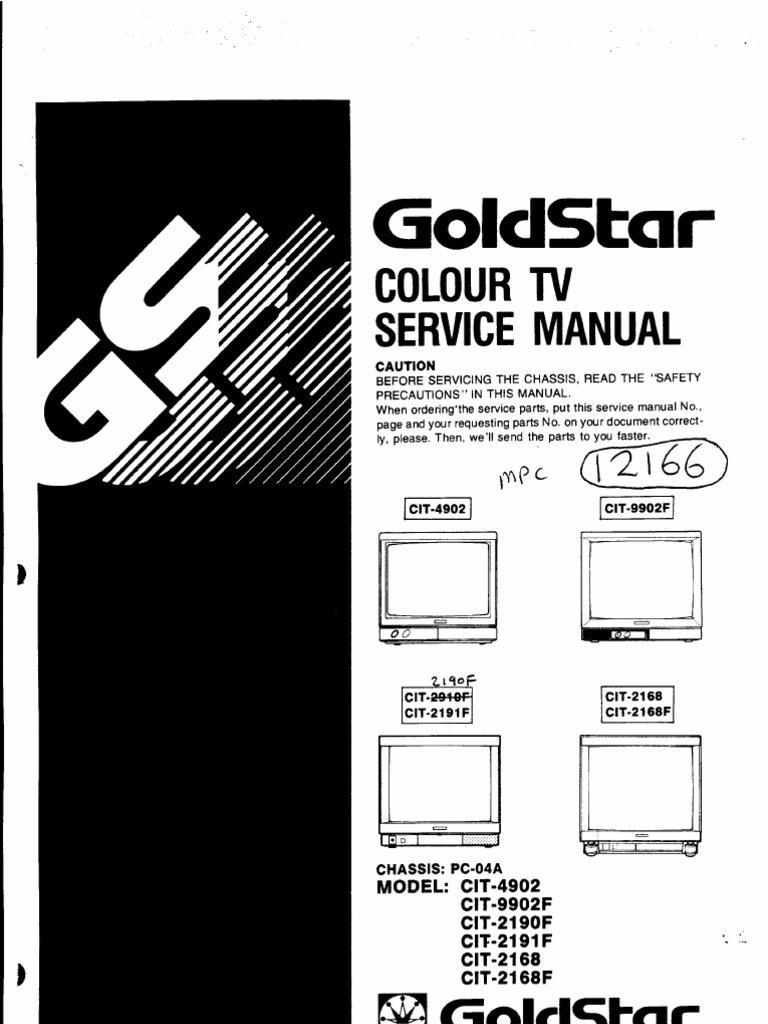 Color tv service manual pooptronica Gallery