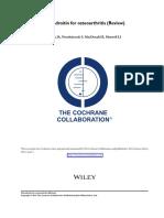 Terapeutica Osteoartritis Condroitina Cochrane