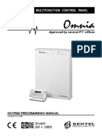 Omnia Keypad Programming Manual