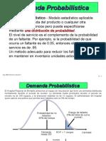 A.O. - Demanda Probabilistica