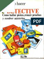 Plesa - Como Hacer - De Detective - Ediciones Plesa