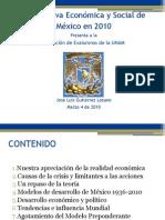 Perspectiva Económica y Social de México en 2010-ExA UNAM-Marzo04