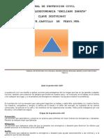 Manual de Proteccion Civil Telesecundaria