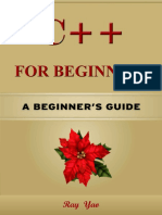 C++ for Beginners, Learn C++ fast - Ray Yao.pdf