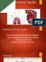Edema Pulmonar Agudo (Resumen)