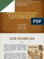 Arquitectura y Urbanismo Los Olmecas