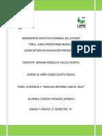 reflexion informa anual unicef 2014