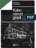 A.freudenreich - Kako Narod Gradi