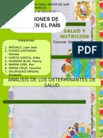 Situaciones de Salud en El País