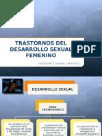 Trastornos Del Desarrollo Sexual