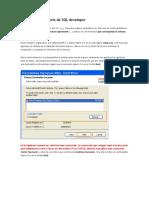 Guia Para Laboratorio de SQL Developer