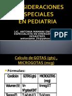 Considerac Especiales en Pediatria-2016