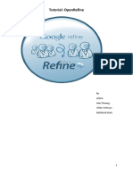 OpenRefine Tutorial v1.5