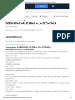 Derivadas Aplicadas a La Economia de Diego Arellano c en Prezi