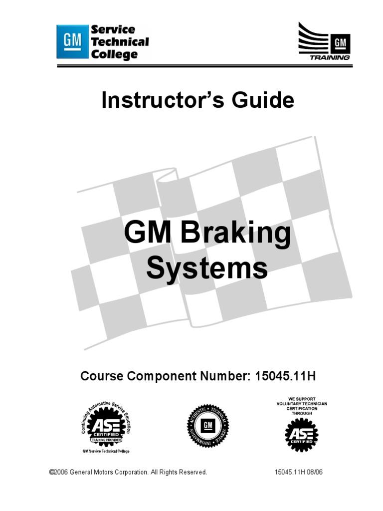 1504511 Gm Braking Systems Anti Lock System Vehicles Lan 29 Wiring Diagram