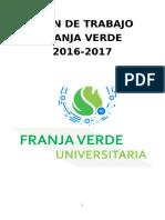 Franja Verde Plan Anual de Trabajo