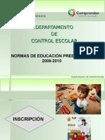 Asesoría Normatividad PREESC 2009-2010.ppt