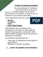 Les Structures de Branchement en C