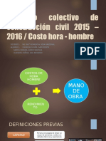 COSTO HORA HOMBRE 2016