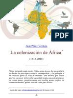 La Colonizacion de Africa 1815 2015