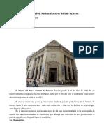 Pinacoteca del museo del Banco Central de reserva