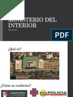 Ministerio Del Interior PERU